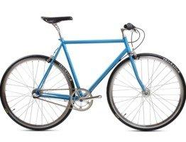 Niebieski rower BLB