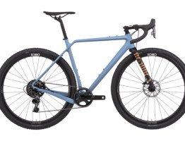 Niebieski rower gravelowy Rondo