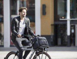 Torba rowerowa do miejskiego roweru