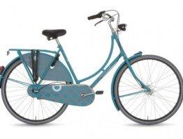 Niebieski rower damski Gazelle