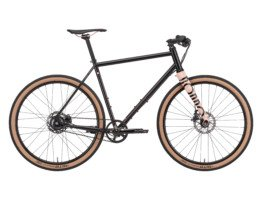 Czarny rower gravel Rondo