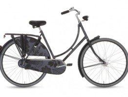 Szary rower damski Gazelle