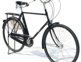 Klasyczny czarny rower męski Pashley