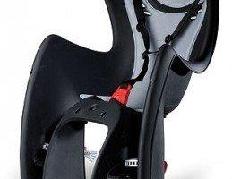 Czarny fotelik rowerowy OK Baby