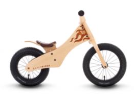 Lekki rower biegowy dziecięcy ze sklejki drewniany Earlyrider