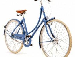 Niebieska damka rower miejski damski Pashley