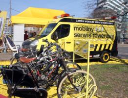 Zamów mobilny serwis rowerowy