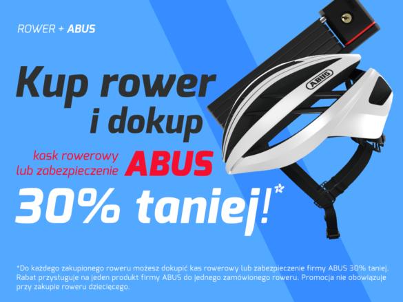 Promocja WygodnyRower Kup rower i dokup kask lub zabezpieczenie 30% taniej!