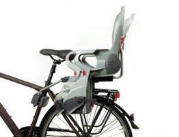 Wygodny tylny fotelik rowerowy