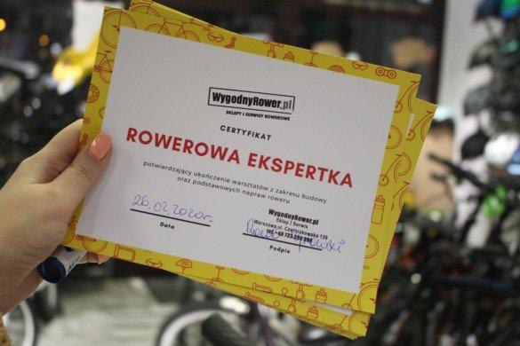 Warsztaty Rowerowe dla Kobiet WygodnyRower Czerniakowska 139 - 28.02.20 - 05