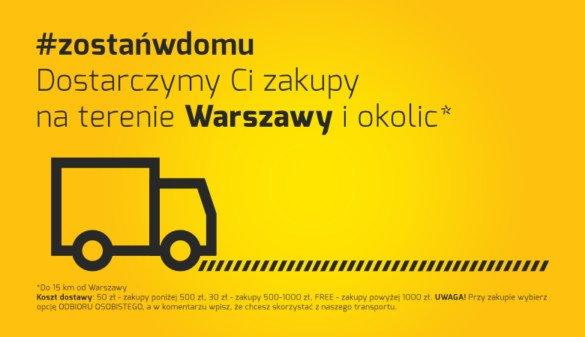 #zostańwdomu Kup rower z dostawą na terenie Warszawy